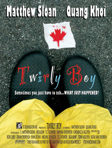 'TwirlyBoy' movie poster